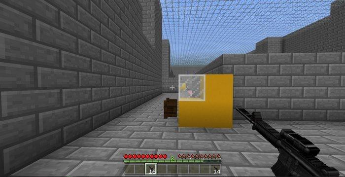 Modern War mod for Minecraft PE 1 2 13