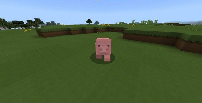 Paper Cut-Out pig