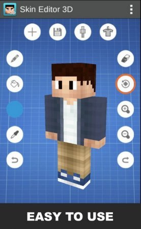Download Skin Editor 3D for Minecraft PE 1.5.3