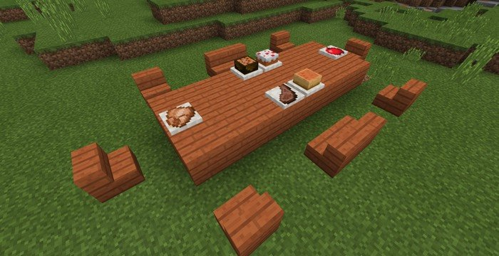 Placeable food in MCPE