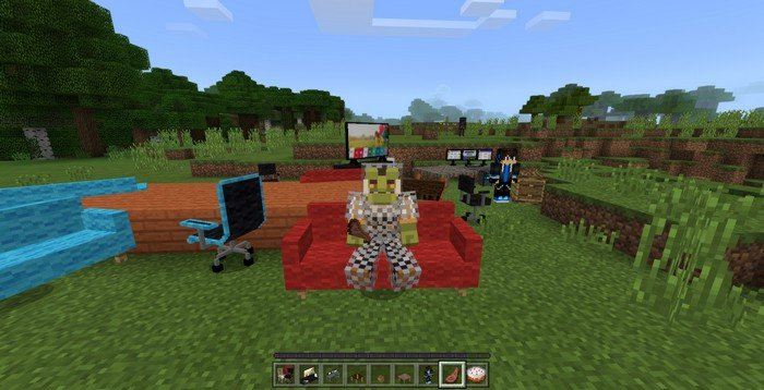 Decoration mod for Minecraft