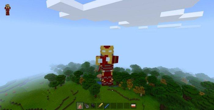 Avengers Infinity War mod for Minecraft PE 1 4 2