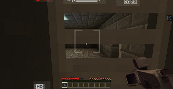 Outlast map for Minecraft PE 1.4.2