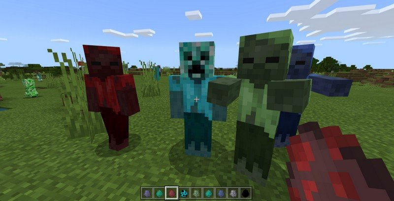 More Zombies mod for Minecraft PE 1.11.1