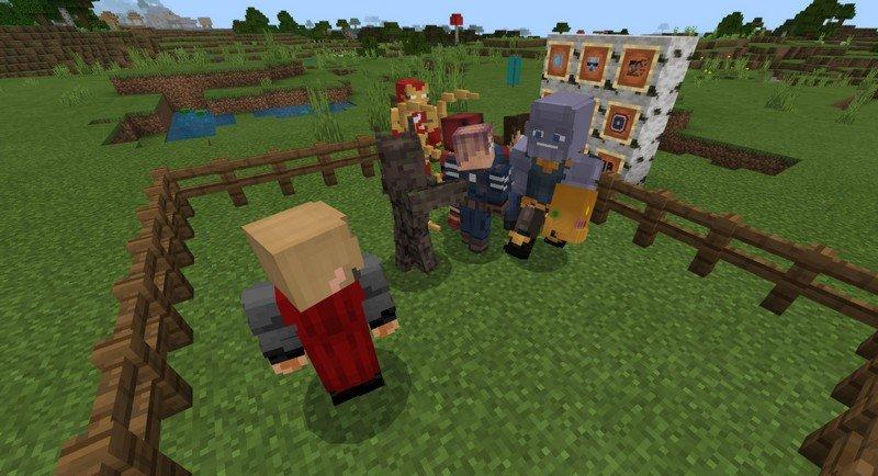 Avengers Endgame addon for Minecraft PE 1.11.4