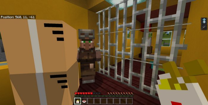 Hello Neighbor map for Minecraft PE 1.11.4