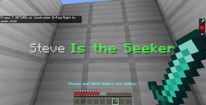 Big house Hide and seek for Minecraft PE 1.12.0