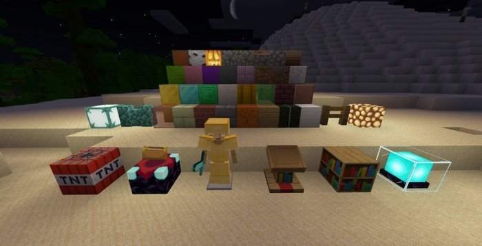 NaturalPack texture pack for Minecraft PE 1.11.4