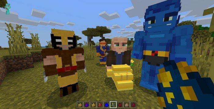 X-Men addon for Minecraft PE 1.12.0