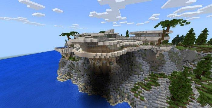 Tony Stark's Mansion map for Minecraft PE 1.12.0