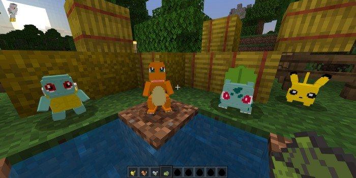 PokeCraft addon for Minecraft PE 1.12.0
