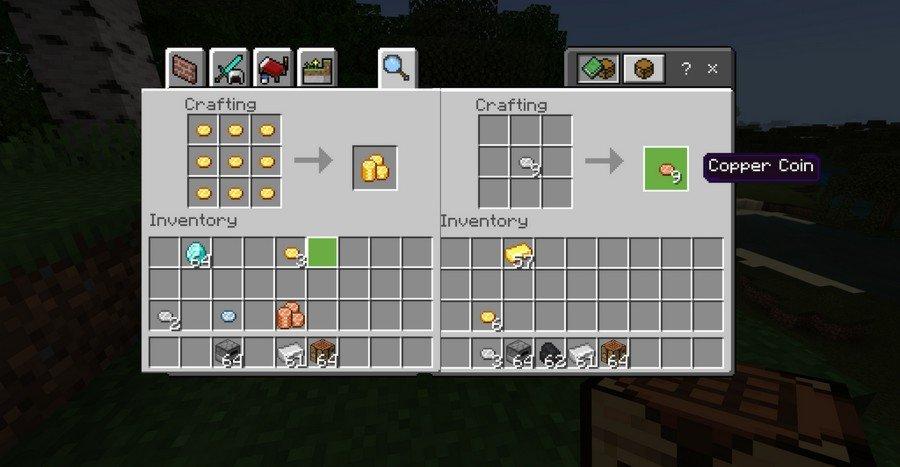 Money addon for Minecraft PE 1.13.1