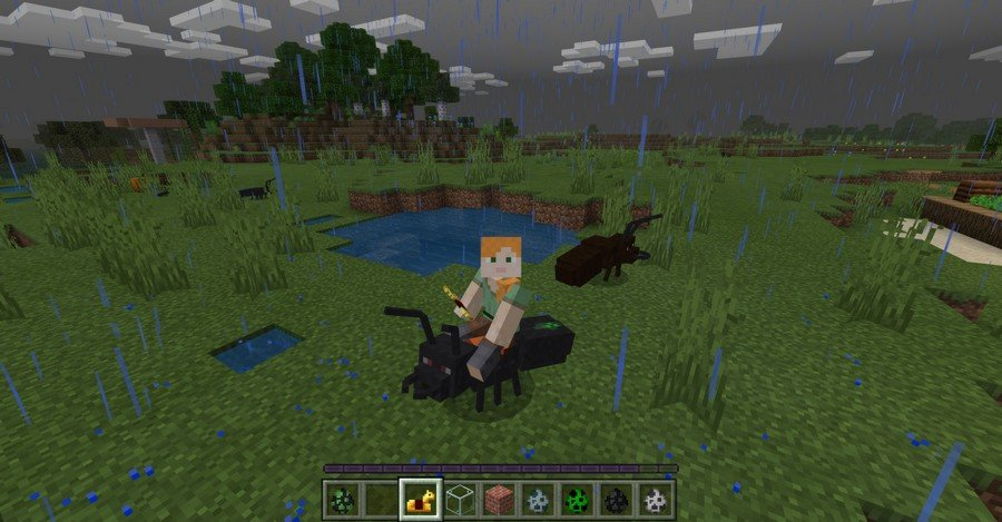 Ants addon for Minecraft PE 1.13.1