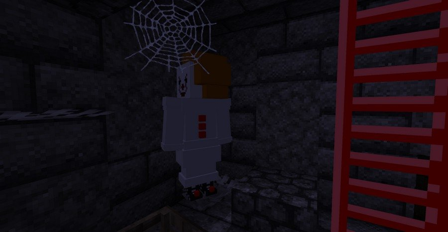 Scary Sewer map for Minecraft PE 1.13.1