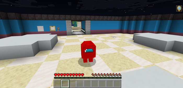 Among Us Map For Minecraft Pe 1 16 40